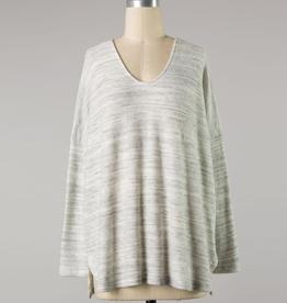 vera v-neck long sleeve top
