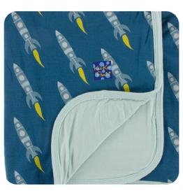 kickee pants twilight rockets stroller blanket