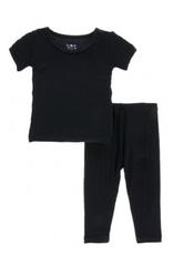 kickee pants midnight short sleeve pajama set