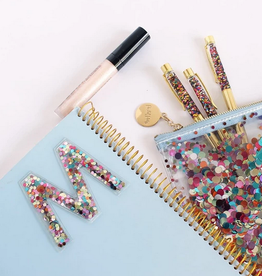 packed party stick to it multi confetti letters