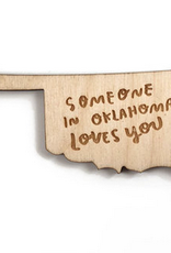 loves you oklahoma magnet