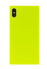 neon yellow phone case