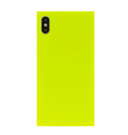 neon yellow phone case