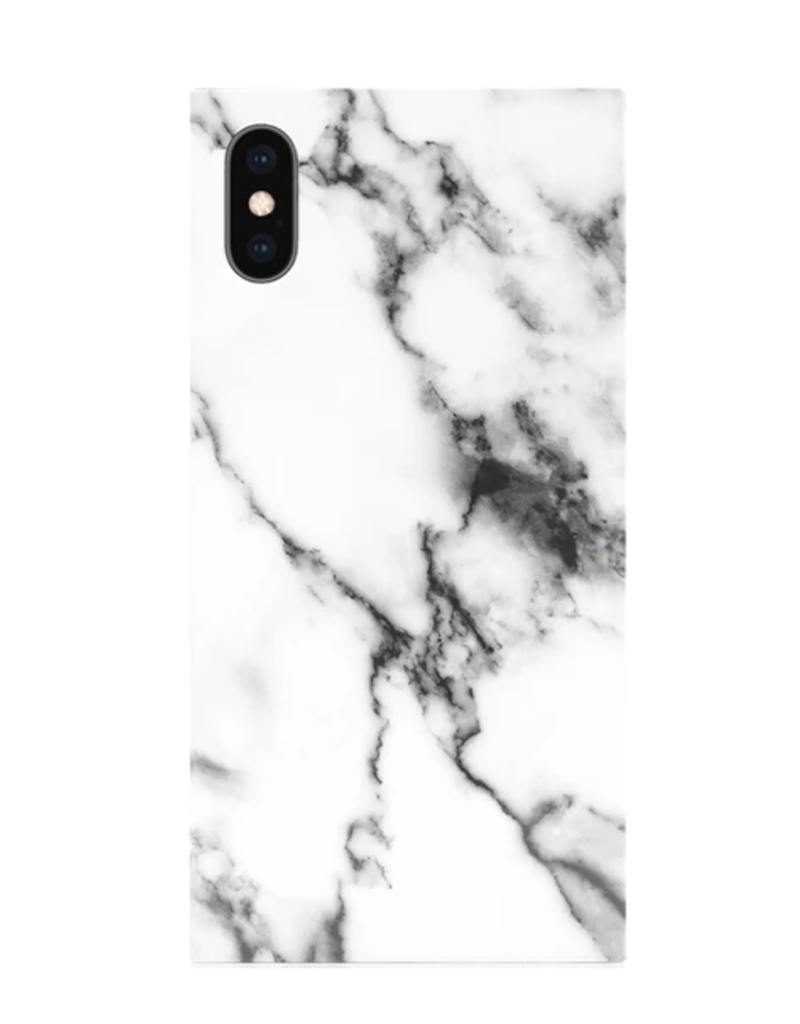 white marble phone case FINAL SALE