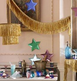 meri meri gold tinsel chandelier