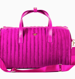 PurseN velvet gym bag