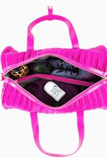 PurseN velvet gym bag