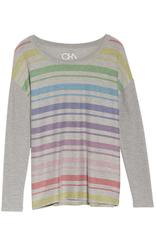 chaser cozy knit drop shoulder dolman