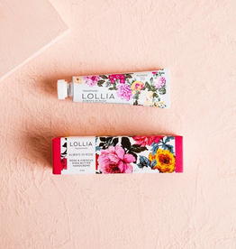 lollia always in rose petite handcream