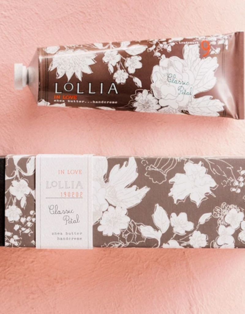 lollia in love shea butter handcream