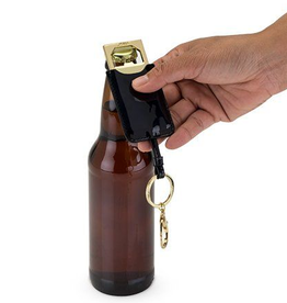 Blush keyfab bottle opener black