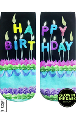 make a wish glow ankle socks