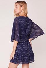 hot dots mini dress