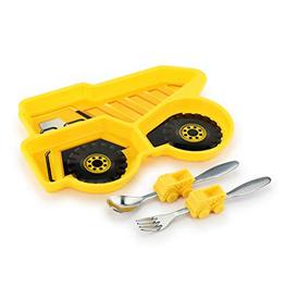 KidsFunwares dump truck meal set