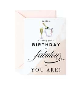 kitty boutique fabulous birthday card