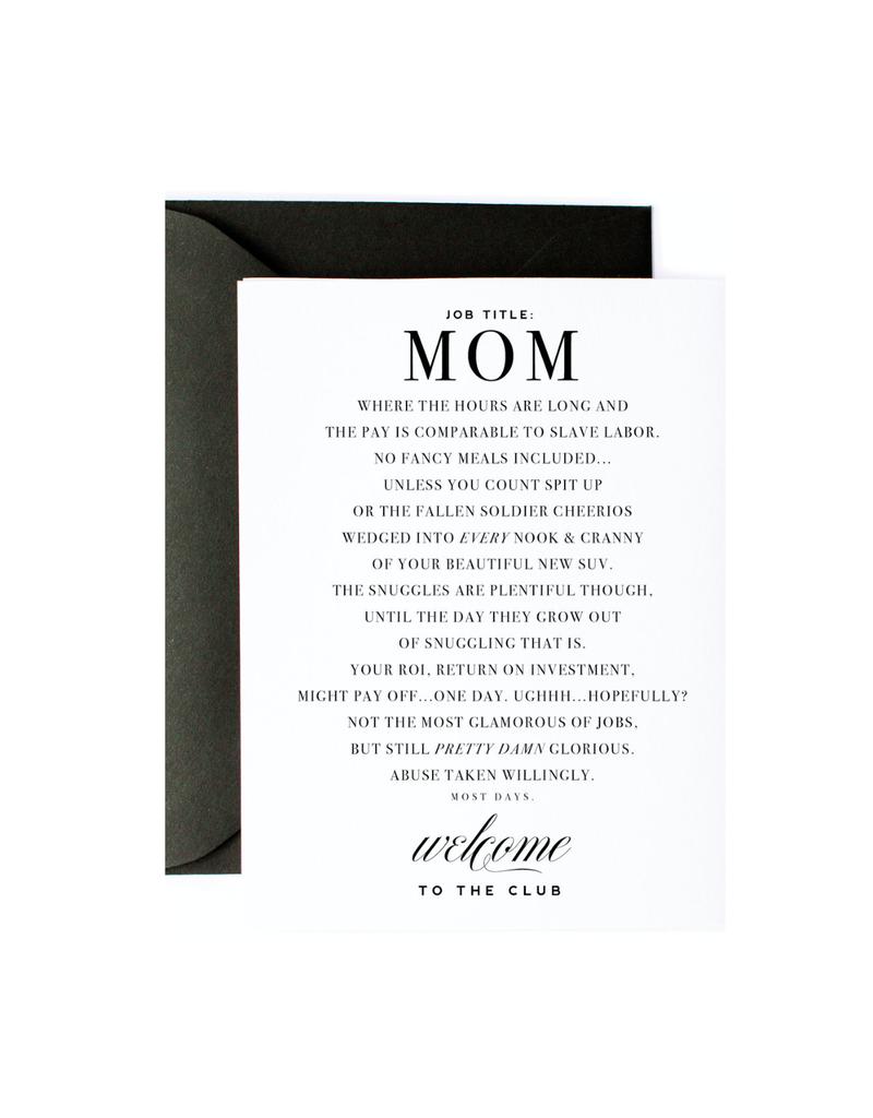 mom club card