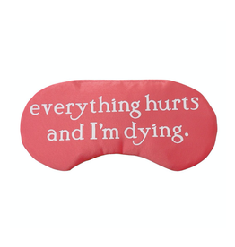everything hurts sleep mask