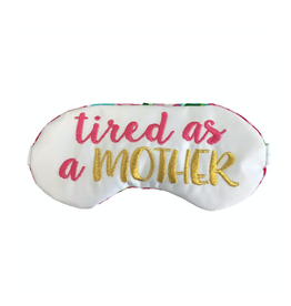 the sleepy cottage tired as a mother sleep mask