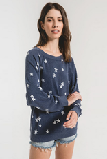 z supply the distressed star pullover