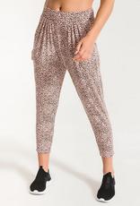 z supply the mini leopard pant final sale