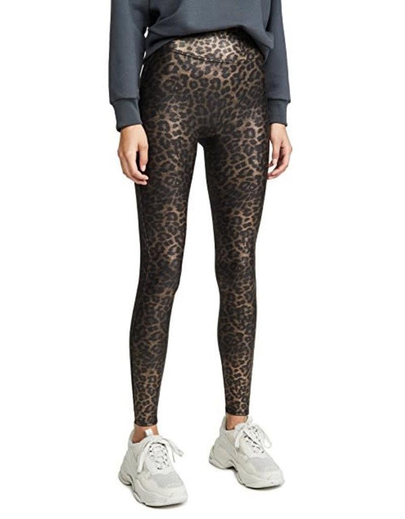spanx metallic leopard legging