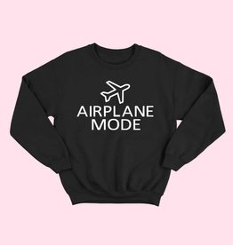 airplane mode sweatshirt