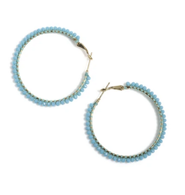 shiraleah rumba hoop earrings