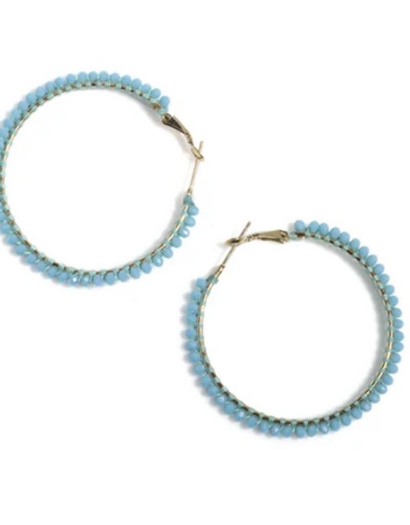 shiraleah rumba hoop earrings
