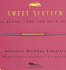 milestone birthday bracelet