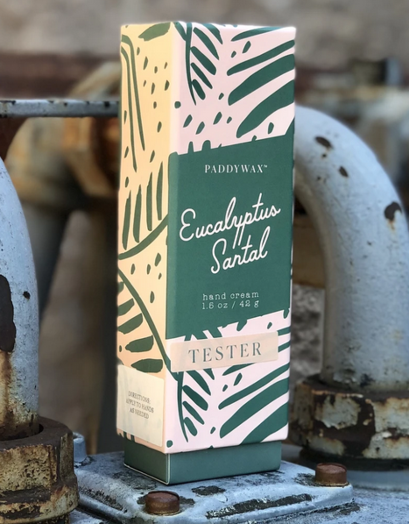 eucalyptus santal hand cream