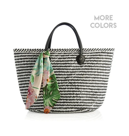 shiraleah tessa tote with scarf FINAL SALE