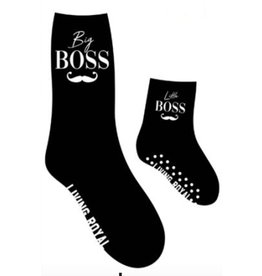 boss mini+me sock set