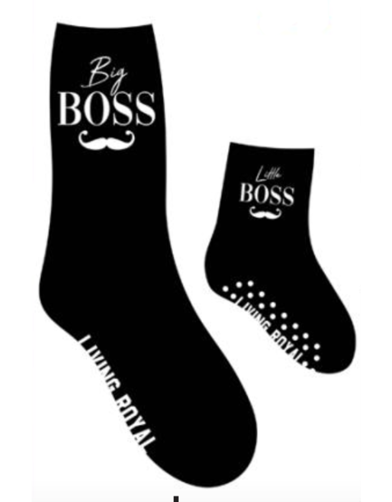 boss mini+me sock set FINAL SALE