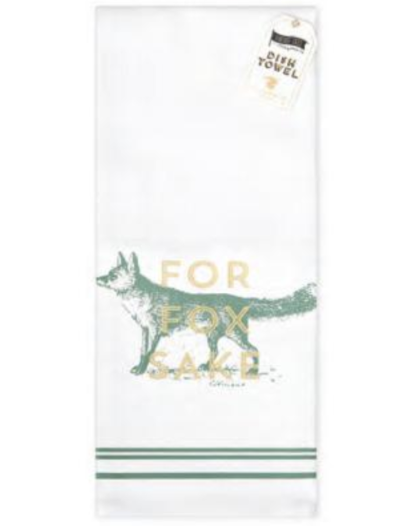 for fox sake bar towel