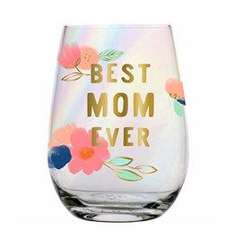 best mom ever 20oz stemless wine glass