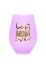 best mom ever 30oz stemless wine glass