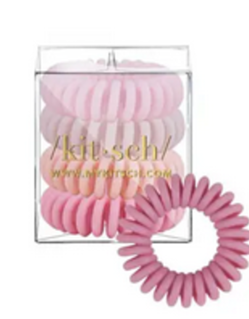 4 pack hair coils - ballet