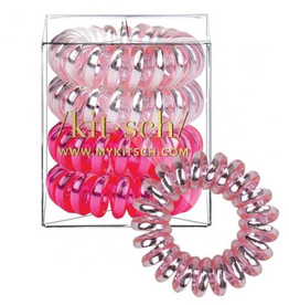 4 pack hair coils - crush
