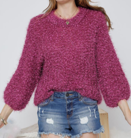 bella chunky knit sweater