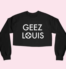 alphia geez louis cropped swetshirt