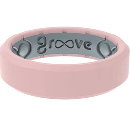 groove life edge thin silicone ring