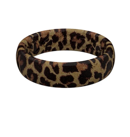 groove life thin aspire leopard silicone ring