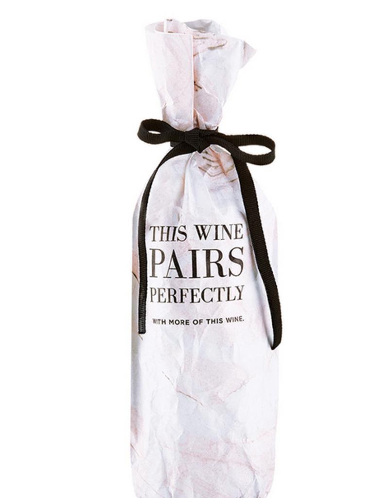 santa barbara designs pairs perfectly wine bag