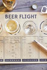 santa barbara designs beer flights placemat (set of 24)