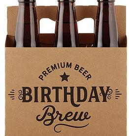 santa barbara designs birthday brew beer carrier FINAL SALE