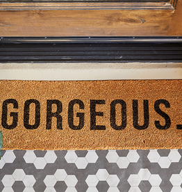 santa barbara designs skinny door mat