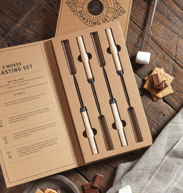 santa barbara designs smores roasting set