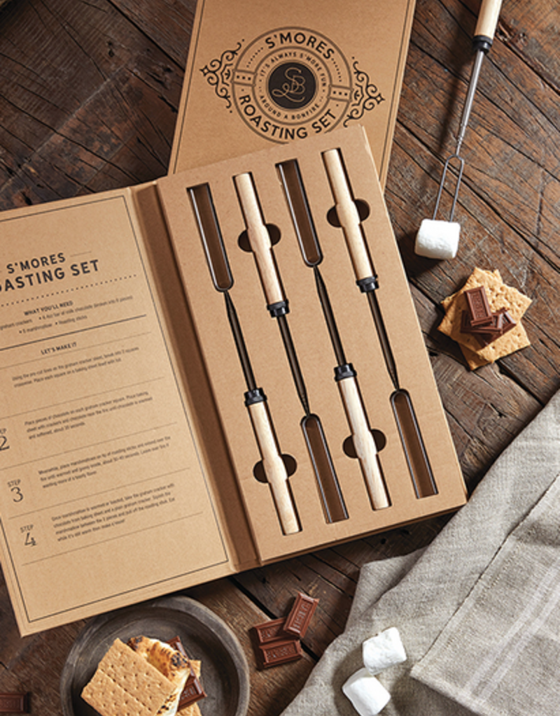 santa barbara designs smores roasting set