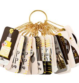 santa barbara designs gift tag book birthday