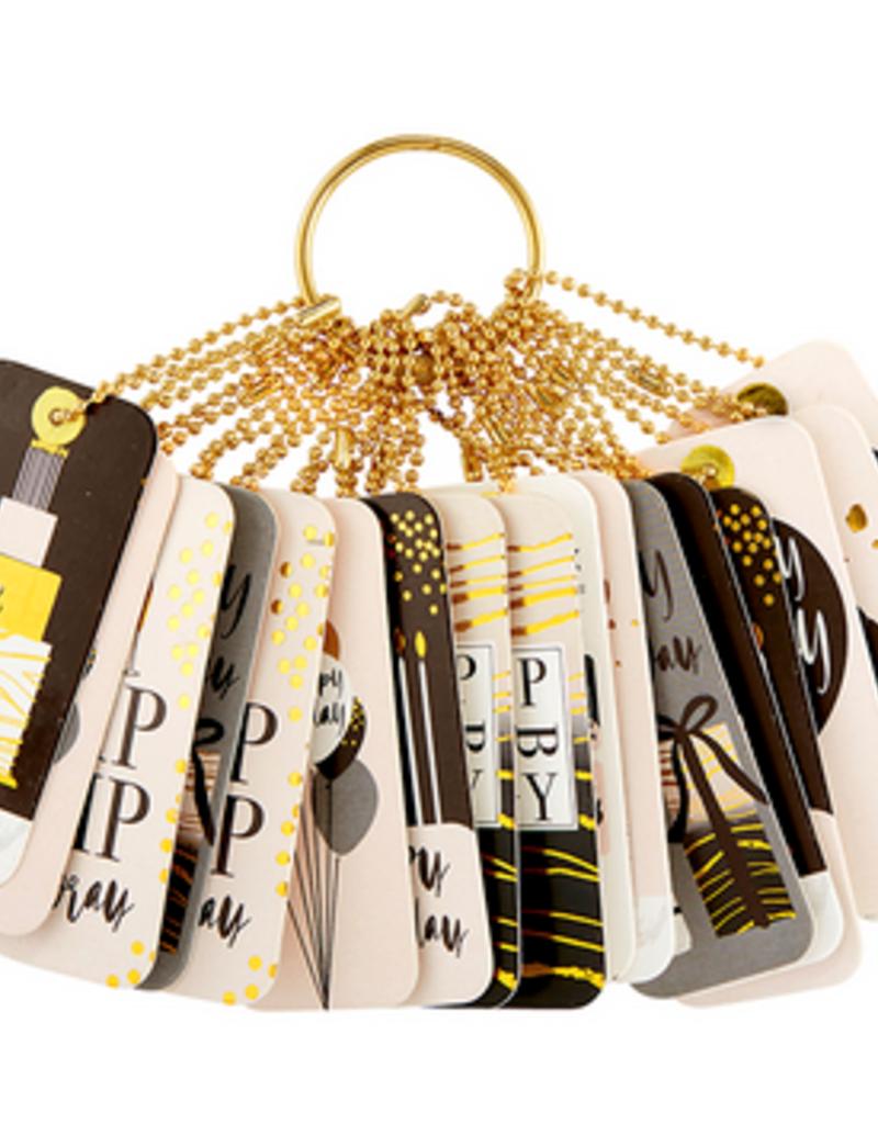 santa barbara designs gift tag book birthday FINAL SALE